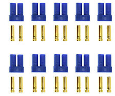 Apex RC Products 10 Female EC5 Battery Connector Plugs #1537