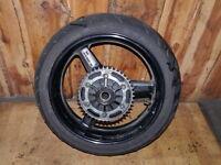 Hinterrad / rear wheel / Yamaha TDM 900-RN11