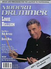 Modern Drummer Magazine January 1991 Louie Bellson VG 040416jhe
