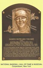 Postcard Jim Thome Cleveland Indians HOF Hall of Fame Cooperstown MINT
