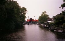 PHOTO  NETHERLANDS ON RIVER VECHT 1991 VIEWS ON THE RIVER v11