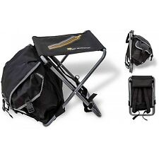 ZEBCO PRO STAFF BP BACKPACK RUCKSACK CHAIR FISHING TACKLE BAG 34CM X 33CM X 41CM