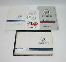 1996 buick regal operators owners manual original.