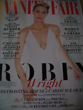 "april 2015 Vanity Fair ROBIN WRIGHT "" House of Cards "" sexy Cover + Anglie Jolie"