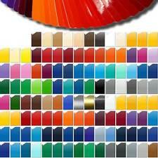 Plotterfolie (15,87?/m²) DIN A4 Bogen 30x21cm ORACAL 751C Folie Vinyl Autofolie