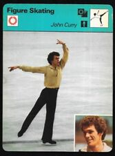 1977 Sportscaster Card Figure Skating John Curry # 12-18 NRMINT.
