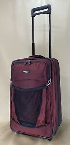 """Briggs & Riley Transcend TDU521X 21"""" Upright Wheeled Exp Carry on Suitcase"""