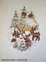 Heilige Familie  9 cm Figur Tischdeko Erzgebirge NEU Seiffen Weihnachten Krippe