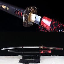 hand forge Shihozume laminated Japanese samurai O-katana clay tempered sword.