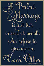 PRIMITIVE STENCIL A PERFECT MARRIAGE  12X18 .007 MIL FREE SHIPPING