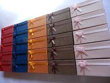 lot 25 boites emballages bijoux neuves  11cm x 5cm x 3cm