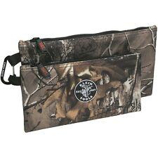 Klein Tools 55560 Realtree® Xrta Camo Zipper Bags, 2-Pack