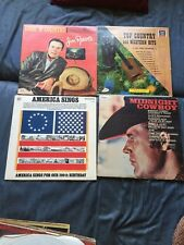 Lot Of 4 Vintage Record Albums # 3