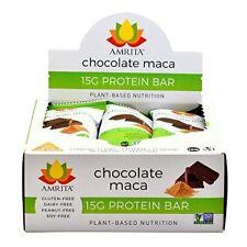 Paleo Chocolate Maca Protein Bars -Gluten-Free, Soy-Free, Dairy-Free, Kosher