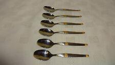 ORNATA Set di 6 cucchiaini da caffè in acciaio inox ERCOLE INOX 18/8 LOTTO 2