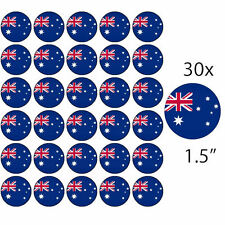 "AUSTRALIA - AUSTRALIAN 30 x 1.5""/4CM Rice Paper Cake Toppers - Free P&P"