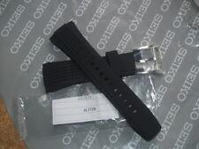 SEIKO VELATURA B26 BLACK RUBBER / SILICONE 26mm WATCH STRAP 4LJ7JB 26mm