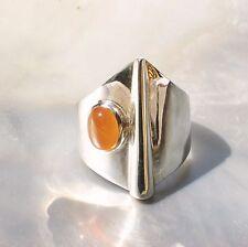 Karneol Ring, 925er Silber, Edelsteinring (21587), Edelsteinschmuck