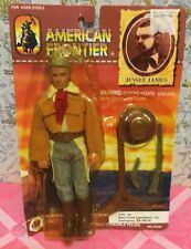 A Very Neat Vintage 1994 American Frontier Jesse James 8in. Plastic Doll In Box