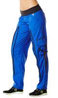 Authentic New Zumba Craveworthy Zip Cargo Pants ~~   Blue  ~  NWT  All Sizes