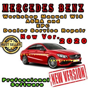 NEW 2020 Mercedes all Workshop Manual WIS ASRA and EPC Dealer Service Repair