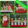 Personalised Christmas / XMAS Tree Decoration, Gift, Bauble, Keepsake, Family
