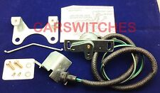 1965-1968 CHEVELLE NOVA IMPALA 4 Speed Muncie Trans BACKUP LIGHT SWITCH & BRKT