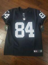 NIKE NFL ELITE RAIDERS ANTONIO BROWN ON FIELD JERSEY Size 44 *Retails $325*...