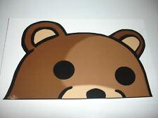 Meme Bear Sticker Decal Funny JDM 4chan 9gag - 14CM FACING RIGHT