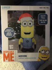 Despicable Me Kevin Christmas AirBlown Inflatable Minions Santa Hat