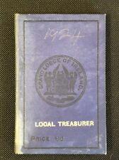 1924 Irish Freemasons' Calendar & Directory, Masonic Grand Lodge of Ireland