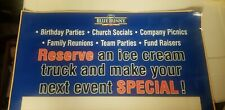 Ice Cream Truck Concession Sticker truck for partys and events sign brand new