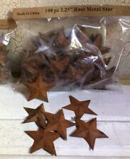 """LOT of 200  Rusty Barn Stars 2.25"""" Country Craft WEEKLY SPECIAL"""