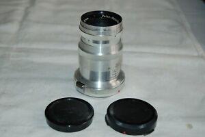 Carl Zeiss Triotar 4/85mm Contax Mount Vintage German Rangefinder Lens. 958415