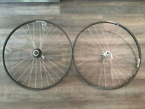 Campagnolo Omega Strada 6 speed wheelset with Record hubs and skewers