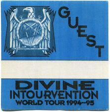 SLAYER 1994 Divine Intervention Tour Backstage Pass!!! concert stage #3