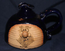 Original 1974 Signed Peter Petrie Maine Potter Ugly Face Pitcher