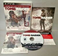Tomb Raider Game of Year Edition -  Sony PlayStation 3 PS3 Game COMPLETE Tested