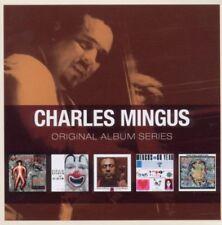 CHARLES MINGUS 5 X ORIGINAL SERIES JAZZ GOSPEL BEBOP MUSIC CD BOXNEW