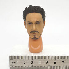 X57-04 1/6 Scale HOT Iron Man Male Head Sculpt with Neck Joint Connector TOYS