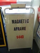 Magnetic A Frame Sign