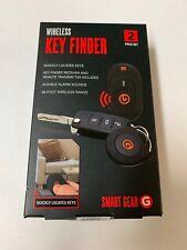Smart Gear Wireless Key Finder 2 Piece Set Locates 2 sets of keys NEW
