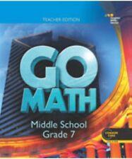Grade 7 Go Math Teacher Edition Middle School 7th