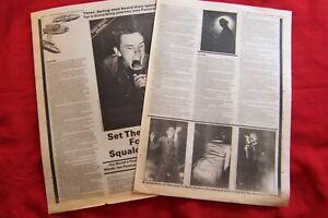JOY DIVISION 1979 FUTURAMA LEEDS ORIGINAL VINTAGE CONCERT GIG REVIEW ARTICLE