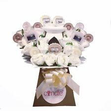 Yankee Candle Melt Burner, Scented Candles & Ivory Rose Bouquet