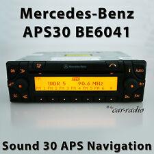 Original Mercedes Sound 30 APS BE6041 Becker Navigationssystem A0028205426 Radio