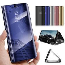 Handyhülle für Huawei P20 / Pro / Lite Clear View Flip Case Hülle Cover Tasche