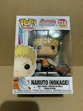 Funko Pop! 724 Boruto NARUTO HOKAGE Vinyl Figure Exclusive Anime In Stock UK
