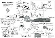 Ace Models 1/72 FAIREY SWORDFISH British Torpedo Bomber Photo Etch Update Set
