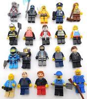 LEGO HUGE ASSORTMENT 20 MINIFIGURES STAR WARS OBI WAN POLICE ALIEN ACCESSORIES !